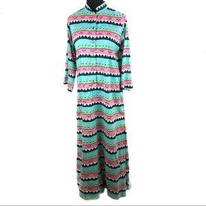 Stunning 70's Thai Robe dress